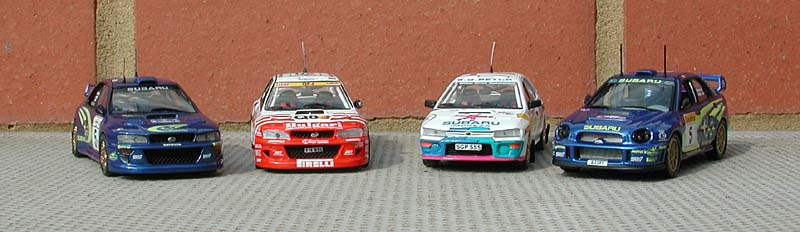 trofeu group plus IXO WRC2001